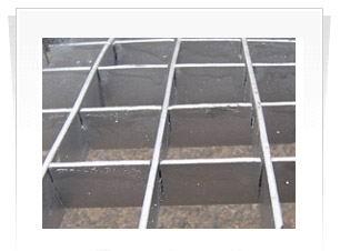 供应插接钢格板 插接钢格栅板