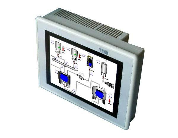 产品名称: 10.4寸可编程人机界面(HMI) 产品型号: WQT_T8060_104 10.4英寸工业触摸屏(智能可编程人机界面) 具备数据显示、数据监控、报警等基本功能支持多种主流PLC,双口可独立通讯画面编辑软件,支持离线和在线模拟,并可实现组态功能 产品规格: 组态软件(画面开发工具): WQT Designer V3.