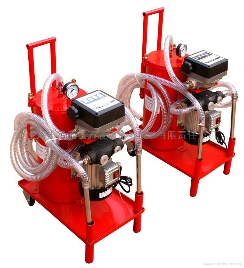 T-BLAN系列高粘度液压(润滑)油过滤脱水装置