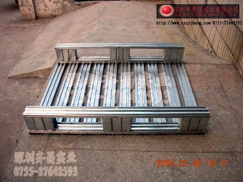 出口免检金属卡板,铁托盘,铁卡板