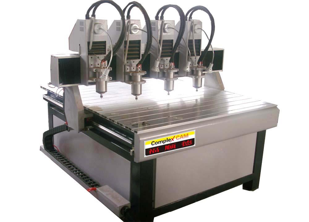 供应FSD-1212四头木工雕刻机/青岛雕刻机厂家