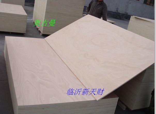 供应高档环保杨木芯CARB P2认证胶合板、CARB P2家具板