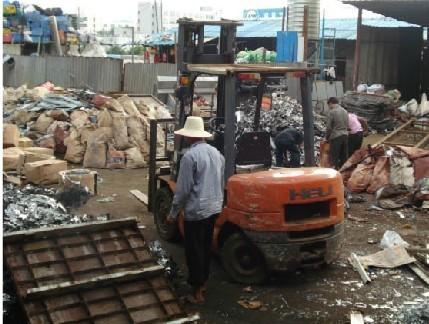 收购二手建材钢管 库存物资废料回收 倒闭拆迁厂房物资废料回收深圳