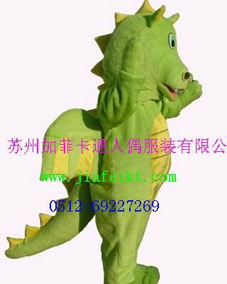 卡通表演服装道具金华嘉兴毛绒玩具恐龙