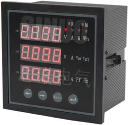 三相数显电压表CD194U-AX4