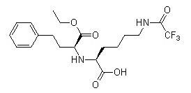N2-(1-乙氧羰基-3-苯丙基)-N6-三氟乙酰基-L-赖氨酸