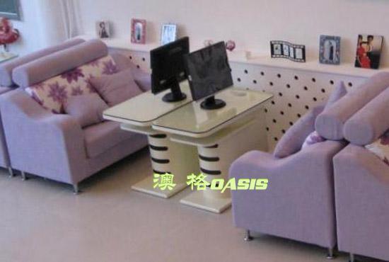 影楼选片桌沙发