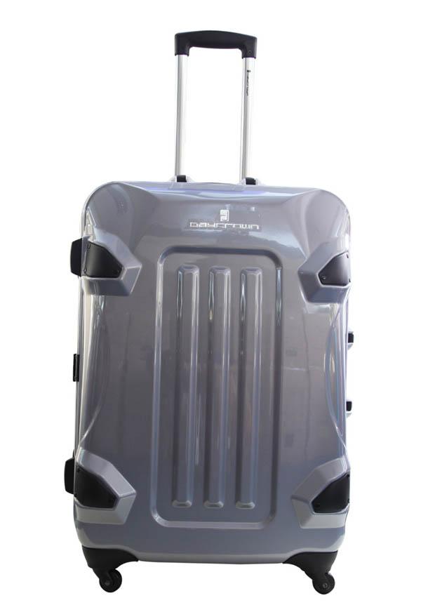 供应 时尚ABS+PC拉杆箱专卖24寸/四轮旅行箱 行李箱