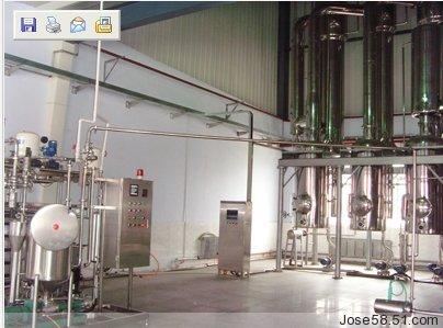 保温管,真空系统,各效料液输送泵,冷凝排水泵,操作平台,电器仪表控制