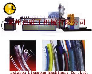 供应塑料机械 PVC纤维增强管机组