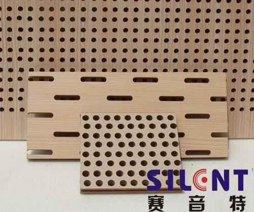 赛音特木质穿孔复合吸音板