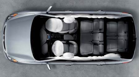 新型汽车安全气囊