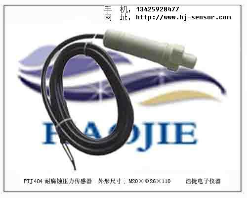 PTJ404防腐蚀压力传感器