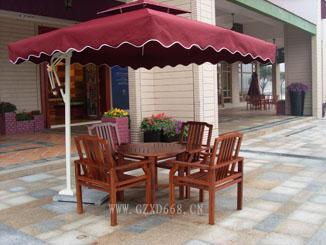 广州户外家具供应实木桌椅、花园套椅