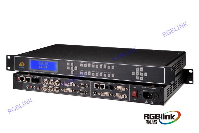 四画面视频处理器VSP709