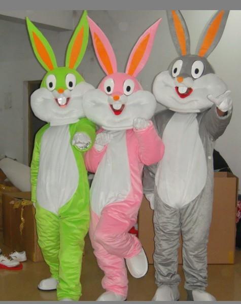 提供宣传卡通服装,活动兔八哥毛绒公仔服装