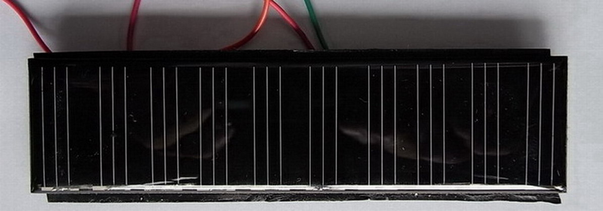 太阳能滴胶板 0.8W