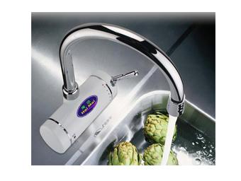 弯管式厨房电热水龙头/海迈快速电热水龙头