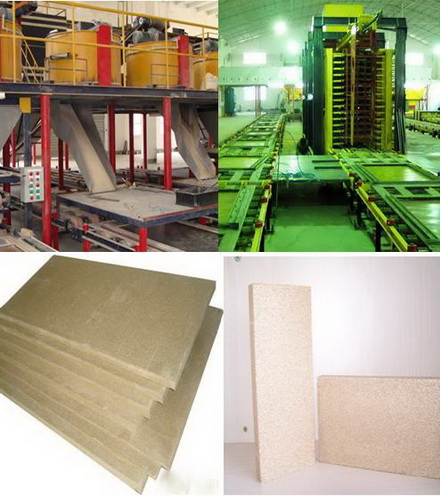 国森机械生产防火保温蛭石板生产线设备