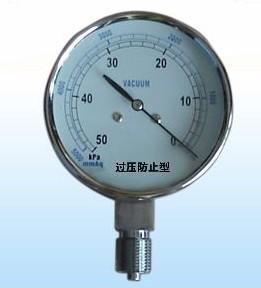 10KPA压力表/不锈钢压力表/电接点压力表/膜盒压力表/微压表