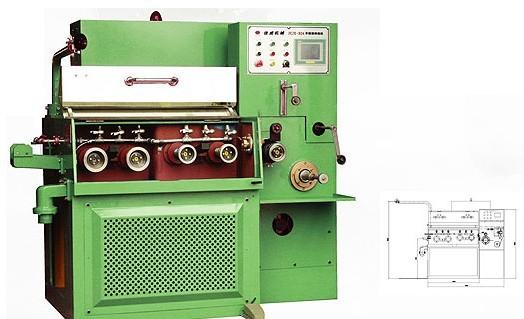 JCJX-24VX铜线极细线伸线机设备