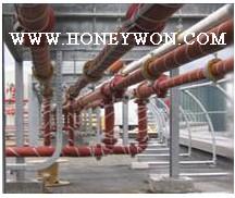 管道加热器 管道加热带 管道伴热带 管道保温带 宏旺硅胶