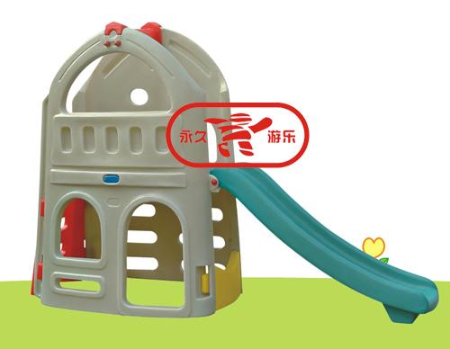 幼儿游戏滑梯(温州永久游乐设备厂)