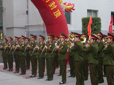 广州军人乐队提供