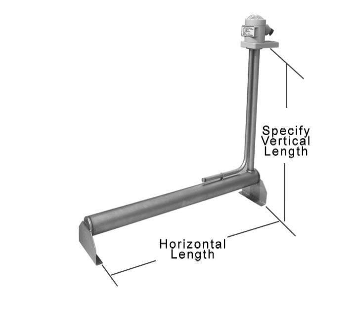 保达L型钛电加热器/低浓度酸性液体加热器