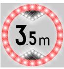青岛标志牌 深圳标志牌,太阳能标志牌,LED太阳能标志牌