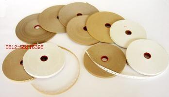 拼缝线胶带 木皮拼花胶带(白色、本色封边、本色打孔)