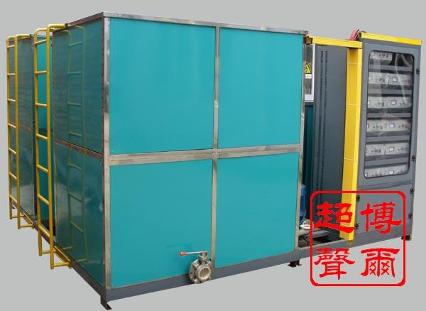 电力机车电阻制动柜超声波清洗系统