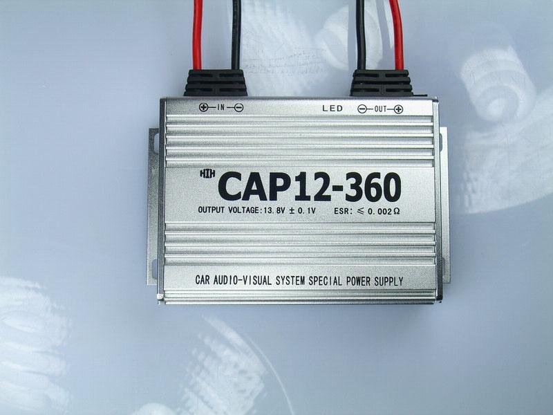 汽车音响改装新利器--汽车影音系统专用电源 CAP