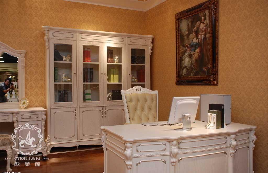 欧式家具十大品牌-欧式家具品牌-欧式书房家具-欧美莲品牌