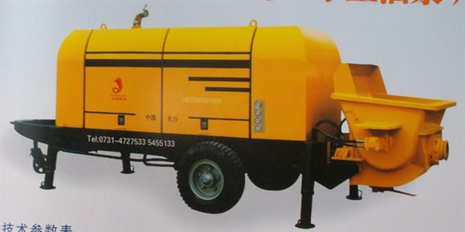 混凝土输送泵整机及配件
