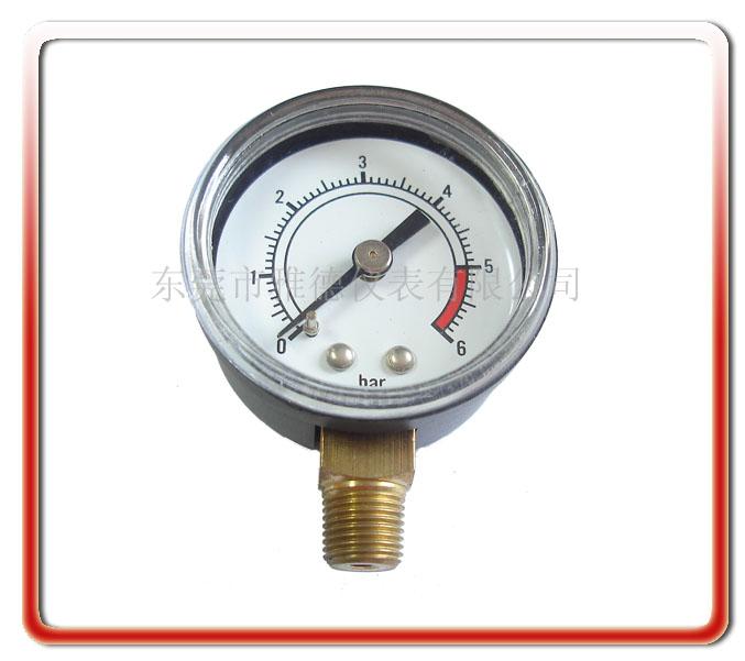 供应40径向塑壳气压表