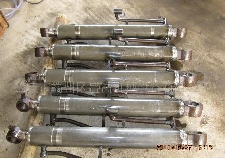 工程机械液压油缸,多节液压油缸图片