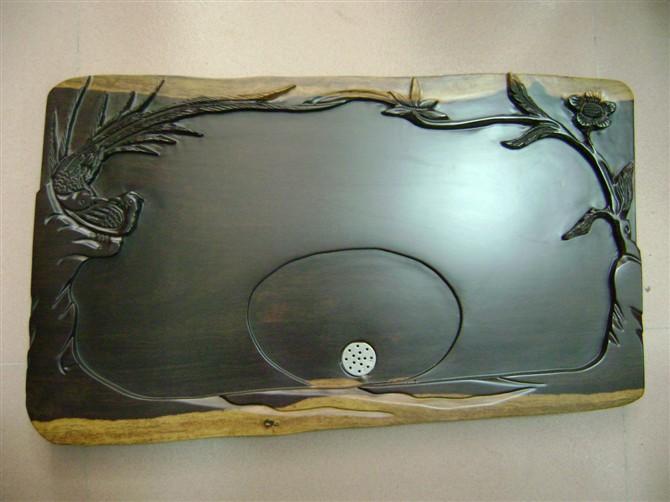 雕刻茶盘实木茶盘