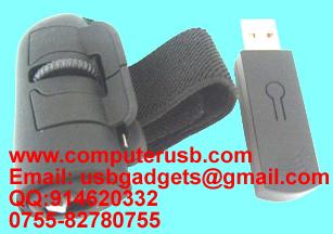 2.4G无线手指鼠标,指环充电无线鼠标