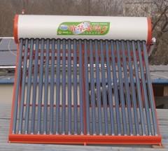 北京太阳能热水器太阳能集热联箱热水工程