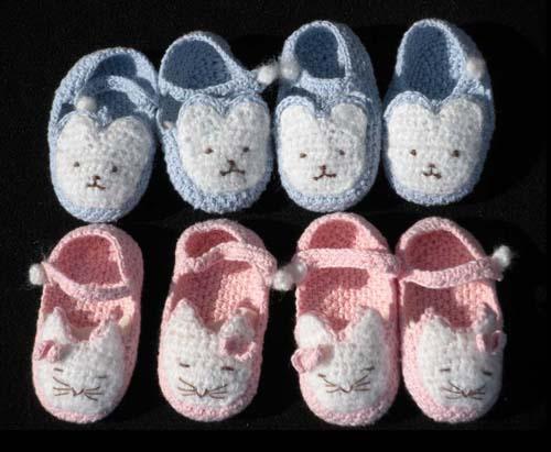 手工编织童鞋