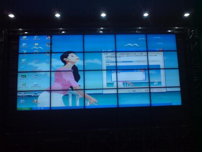 深圳博邦诚三星DID超窄边拼接屏-持续不断的创新满足客户需求