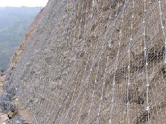 太原边坡防护网太原冀发山西冀发柔性防护网 钢丝防护网 防护网