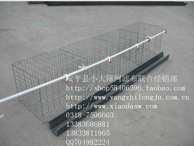 鸡鸽兔笼食盒饮水器粪板围墙网养鸡网养殖笼具养殖设备