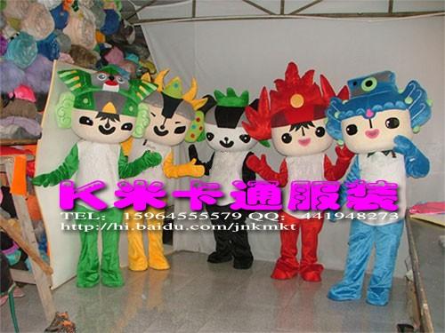 奥运人偶服装