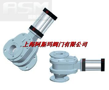 PG双闸气锁耐磨陶瓷平衡阀D型