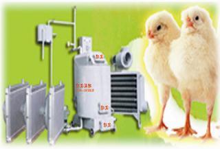 鸡舍调温设备