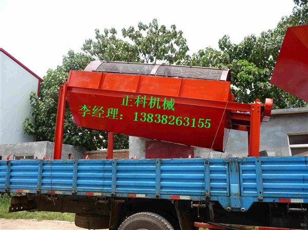 GS1530型滚筒筛砂机