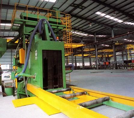 钢管抛丸机钢管抛丸清理机钢管表面喷砂除锈设备