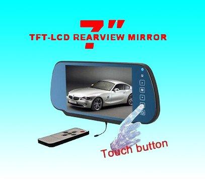 7寸TFT显示屏可视倒车系统 RD-770S